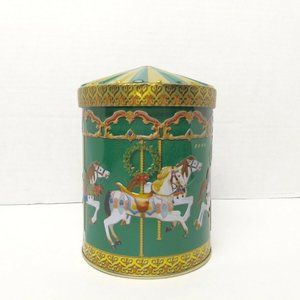 Musical Tin Merry Go Round Music Box Made Germany